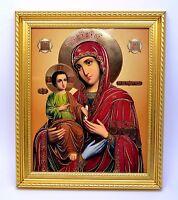 Ikone GM drei Hände икона Богородица Троеручница освящена 28x24x1,7 cm
