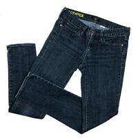 J Crew Jeans womens size 27 Skinny Dark Stretch Denim Mid Rise Toothpick Slim