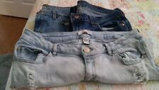 Women's Blue Jeans Lot of 3 Pairs Refuge Size 12 2 The Flirt Old Navy Sz 12 Long