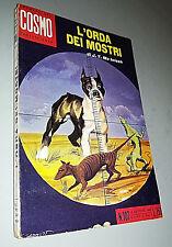 ROMANZI DEL COSMO N° 107 -  L'ORDA DEI MOSTRI  -  J.T. MC INTOSH 1962  - 3/18