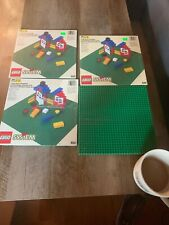Lego Baseplates Green Vintage 626 Lot Of 4 Brand New