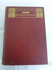 Etching by Frederick Wedmore - Methuen 1911 (First Edition)