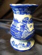 Beautiful Vintage Flo Blue Pottery Sugar Shaker Victopia Ironstone Tableware