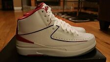 AIR JORDAN 2 RETRO WHITE/RED/CEMENT 2014 SIZE 10 BRAND NEW IN BOX