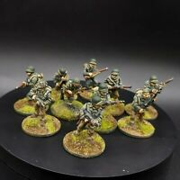 Painted 28mm Bolt Action us infantry ×10 Squad #4