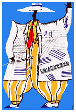 Movie Poster for Cuban film CON LA MISMA pasion.Music.Room Home art decoration