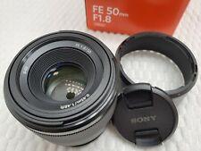 Sony Alpha FE50mm f1.8 Lens (E-mount Full-Frame)