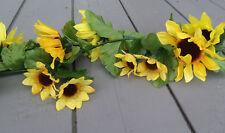 Artificial Sunflower Garland - 175cm Long