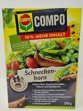 COMPO Schneckenkorn, Streugranulat gegen Nacktschnecken Schneckengranulat 550g