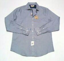 Mens Original Penguin Heritage Slim Fit Dress Shirt 15.5 34/35 Button Front