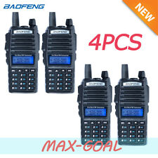 Lot 4 Baofeng UV-82 Dual Band UHF/VHF 137-174/400-520MHz 2Way FM Radio+Earpiece