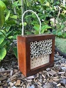 Australian Ladybird and Insect House | Solitary Bee Hotel | Mixed Small Stained