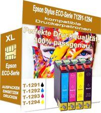 4x cartuchos de impresora Epson t1301, t1291, t1292, t1293, t1294 (no originales Epson)