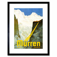 Wall Decor Poster.Home interior.Room art design.French ski resort travel.11633