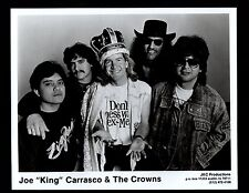 VINTAGE ORIGINAL Joe King Carrasco circa 1990 Ltd Edition Promo Photo 8x10