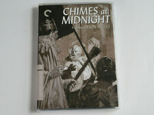 CHIMES AT MIDNIGHT (DVD, Criterion Collection) Orson Welles BRAND NEW SEALED!!!