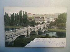 Ansichtskarte Zeitz Auebrücke 1905