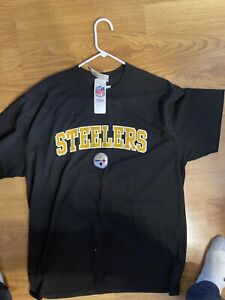 NWT Mens Pittsburgh Steelers Shirt NFL Pro Football XL