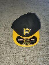 New Era Boy's MLB Pittsburgh Pirates Diamond Baseball Cap, Black , One Size