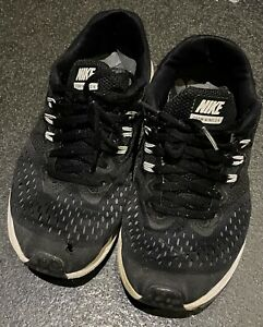 trashed trainers Nike Size 5