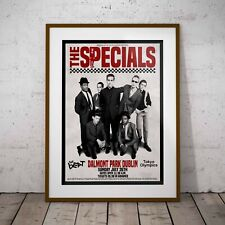 More details for the specials final 1981 concert three print or two frame options new exclusive