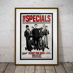 The Specials 1981 Final Concert Three Print Options -Two Framed Options Ska NEW