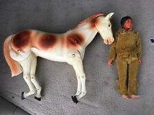 Vintage Gabriel Tonto and Scout Figures, The Lone Ranger TV Show