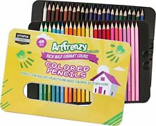 Colored Pencils - Pack of 48 - Soft Core Premier -Suitable for Adults and Kids