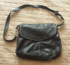 Sereta Women Genuine Leather Black Bag Shoulder Bag