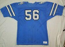 Vintage UNC North Carolina Tarheels Practice Football Jersey Worn #56 XL Blue