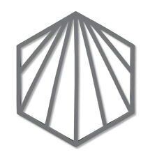 Zone Shell Trivet, Grey Silicone Kitchen Worktop Counter Heat Protector Mat