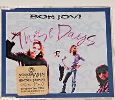 BON JOVI These Days Very Rare Special Edition Volkswagen Promo CD single & LIve