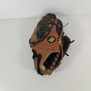 "Wilson Baseball Glove size10"" T-Ball- Easy catch web custom fit adjustable stap"