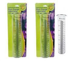 Toland Home Garden Clear Rain Gauge Udometer 227200 Decorative Replacement.