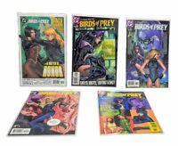 VF 2004 DC Comics Birds of Prey #63-67 Huntress, Black Canary, Katana, Catwoman