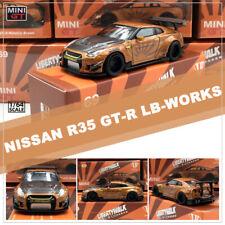 MINI GT 1:64 Car Model 2009 Nissan GT-R (R35) Liberty Walk LB Performance