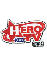 """TIGER & BUNNY Hero TV Patch 3 1/4"""" x 2"""" Patch Licensed GE Animation 44017 Anime"""