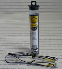 "Woodland Scenics Just Plug JP5742 Yellow LED Stick-On Light 2 light, 24"" Cable"