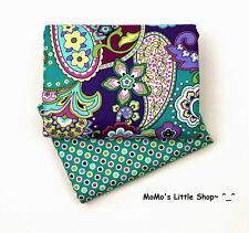 Beautiful Vera Bradley 100% Cotton Fabric (Heather) — 2 Matching Fat Quarters