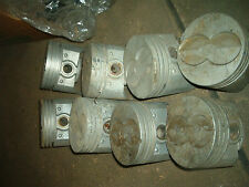 390 FORD  PISTONS  .030 CAST SET OF 8 B 173