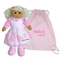Personalised Rag Doll 1st Christmas Baby Birthday Christening Gift  SPECIALOFFER
