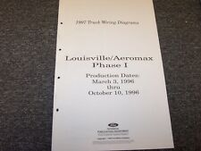 1997 ford louisville aeromax phase i truck electrical wiring diagram manual