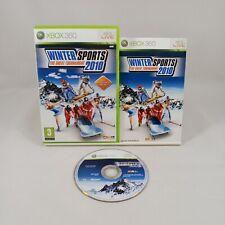 Winter Sports 2010 The Great Tournament Xbox 360 Spiel mit Handbuch