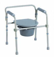 Toilettenstuhl Nachtstuhl WC - Stuhl Stahl Faltbar stuhl Ca618 Antar