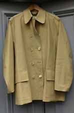 Jigsaw REAL Mackintosh rubberised waterproof raincoat Scotland 40-42 unisex?