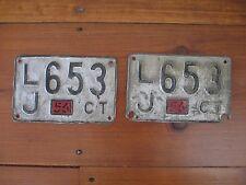 License Plate 1956 automobilia SIGNS rat car HOT RODS retro AUTOMOBILE man cave