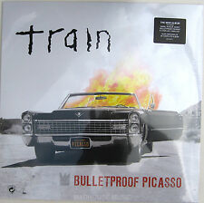 TRAIN LP + CD Bulletproof Picasso Vinyl and full CD 2014 NEW & SEALED