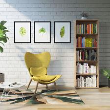 Étagère Bibliothèque Étagère debout Classeur livres Cabinet 190cm Sonoma chêne
