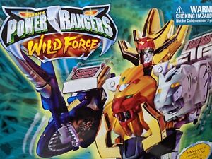 BANDAI Power Rangers Gao-ranger Wild force DX GAO KING MEGAZORD