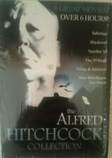 VGC 'The Alfred Hitchcock Collection' 6 Great Movies Over 6 Hours. 3 DVD Box Set